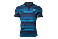 Canterbury CCC Jacquard Stripe Polo Shirt