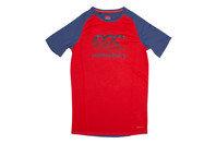 Canterbury Vapodri Kids Poly Large Logo Training T-Shirt