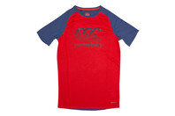 Canterbury Vapodri Youth Poly Large Logo Training T-Shirt