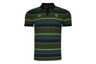 Canterbury Ireland IRFU 2017 Jacquard Rugby Polo Shirt