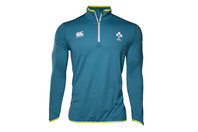 Canterbury Ireland IRFU 2016/17 Players 1/4 Zip First Layer Rugby Training Top