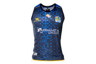 X Blades Parramatta Eels NRL 2017 Players Rugby Training Singlet
