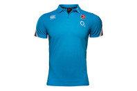 Canterbury England 2017/18 Cotton Pique Rugby Training Polo Shirt