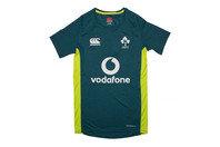 Canterbury Ireland IRFU 2017 Kids Superlight Poly Rugby T-Shirt