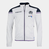 Macron Scotland 2017/18 Players Rugby Anthem Jacket