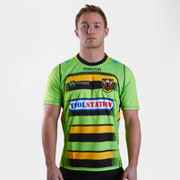 Macron Northampton Saints 2017/18 Alternate S/S Replica Rugby Shirt