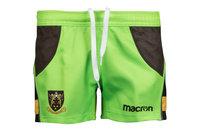Macron Northampton Saints 2017/18 Alternate Kids Match Rugby Shorts