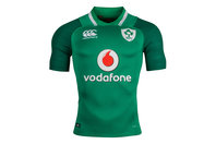 Canterbury Ireland IRFU 2017/18 Home Players Test S/S Rugby Shirt