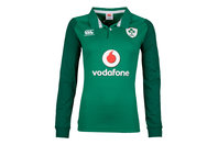 Canterbury Ireland IRFU 2017/18 Ladies Home Classic L/S Rugby Shirt