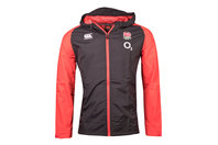Canterbury England 2017/18 Players Full Zip All Weather Rugby Jacket