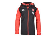 Canterbury England 2017/18 Kids Full Zip All Weather Rugby Jacket