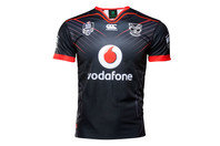 Canterbury New Zealand Warriors NRL 2017 Home Youth S/S Rugby Shirt