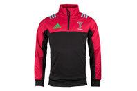 adidas Harlequins 2017/18 Players Fleece Rugby Jacket