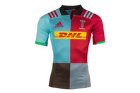 adidas Harlequins 2017/18 Home S/S Replica Rugby Shirt