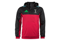 adidas Harlequins 2017/18 Players All Weather Rugby Jacket