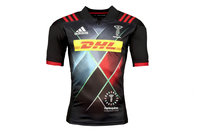adidas Harlequins 2017/18 3rd S/S Replica Rugby Shirt