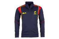 BLK Romania 2016 Full Zip Players Travel Rugby Jacket