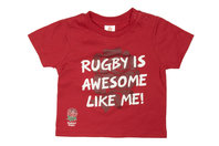 England Rugby England RFU 2017/18 Infant Rugby T-Shirt
