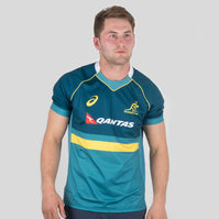 Asics Australia Wallabies 2017/18 Rugby Training Shirt