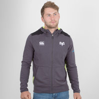 Canterbury Ospreys 2017/18 Full Zip Hooded Rugby Sweat
