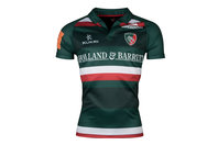 Kukri Leicester Tigers 2017/18 Home S/S Replica Rugby Shirt
