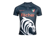 Kukri Leicester Tigers 2017/18 Training S/S Rugby Shirt