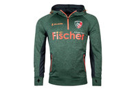 Kukri Leicester Tigers 2017/18 Players 1/4 Zip Hooded Rugby Sweat