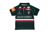 Kukri Leicester Tigers 2017/18 Infant Home S/S Classic Rugby Shirt