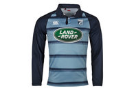 Canterbury Cardiff Blues 2017/18 Home Classic L/S Rugby Shirt