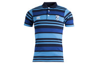 Canterbury Cardiff Blues 2017/18 Jacquard Rugby Polo Shirt