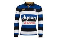 Canterbury Bath 2017/18 Home L/S Classic Rugby Shirt