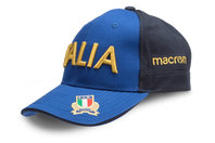 Macron Italy 2017/18 Players Rugby Baseball Cap
