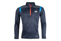 Canterbury Vapodri Poly Knit 1/4 Zip Training Top