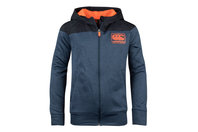 Canterbury Vaposhield Kids Full Zip Fleece Hooded Sweat