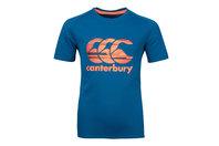 Canterbury Vapodri Poly Logo Kids Training T-Shirt