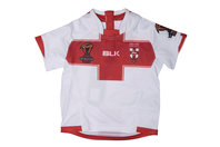 BLK England Rugby League 2017 World Cup Infant S/S Replica Rugby Shirt