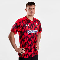 Under Armour Wales WRU 2017/18 Home Rugby 7s Replica S/S Shirt