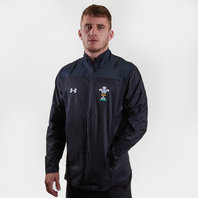 Under Armour Wales WRU 2017/19 Players Rugby Travel Jacket