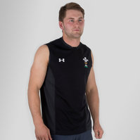 Under Armour Wales WRU 2017/19 Players Rugby Training Singlet