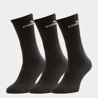 Puma Adult 3 Pack Sport Crew Socks