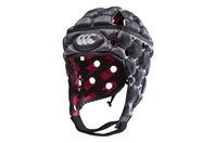 Ventilator Rugby Head Guard Silver Black Kids