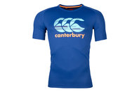 Canterbury Vapodri Poly Largo Logo Rugby T-Shirt