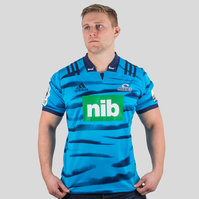 adidas Blues 2018 Home Super Rugby S/S Rugby Shirt