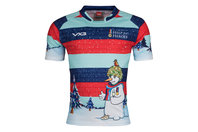 VX-3 Help For Heroes Christmas 2017 Snowman Charity Rugby Shirt