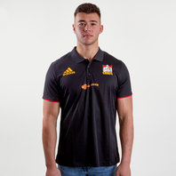 adidas Chiefs 2018 Super Rugby Players Media Polo Shirt