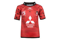 X Blades Gloucester 2017/18 Kids Remembrance Day Poppy S/S Rugby Shirt