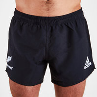 adidas New Zealand All Blacks 2018 Supporters Rugby Off Field Shorts