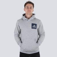 adidas Essential Box Logo Hooded Sweat