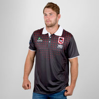 X Blades St George Illawarra Dragons NRL 2018 Rugby Polo Shirt