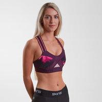 SKINS DNAmic Ladies Compression Sports Bra